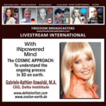 Gabriel – Kathlen Kowalski, The Cosmic Approach – Jayne with Freedom International.