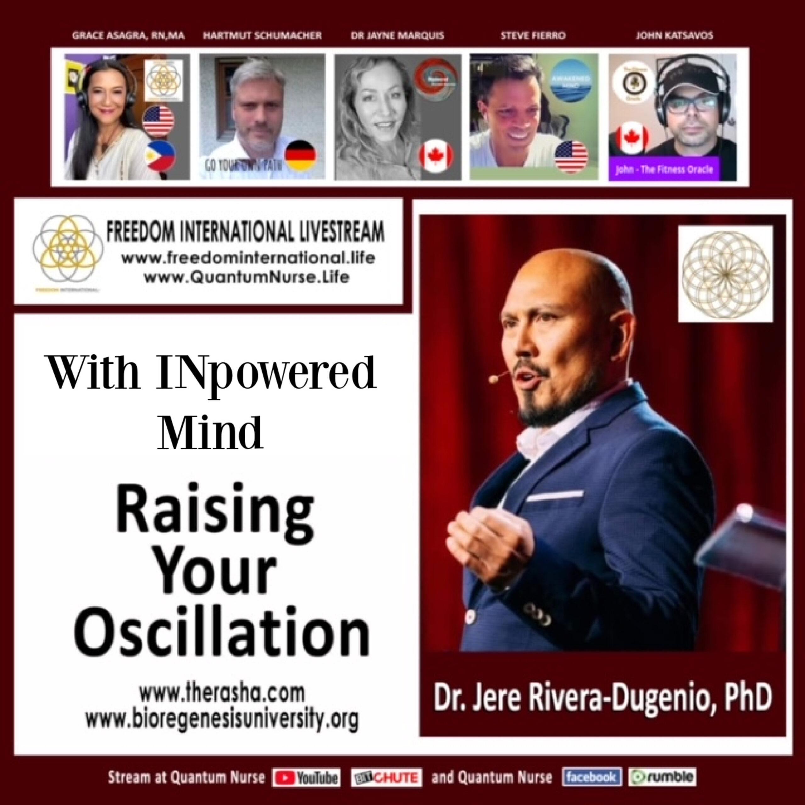 Dr Jere Rivera Degenio – LEVEL UP – Morphogenitic Scalar Fields